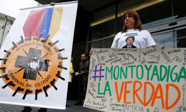 Colombian top general Mario Montoya faces murder charges in 'false positives' scandal