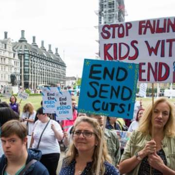 Schools in England forced to cut support for special needs pupils