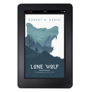 """""""Lone Wolf"""" Short Story Cover"""