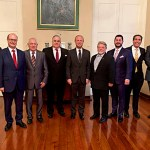Knights of Malta US Delegation meeting Prime Minister Joseph Muscat