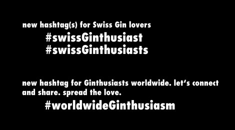 New Hashtags for Gin Lovers