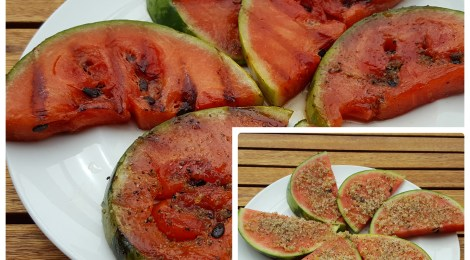 BBQing: Grilled Watermelon