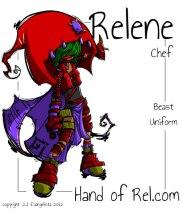 Rel Chef uniform