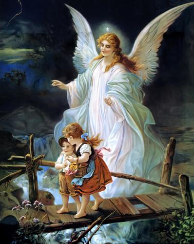Guardian Angel 'Heilige Schutzengel' published by Lindberg