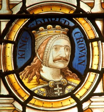 King Godred Crovan of Mann at Tynwald Court (ca.1079 AD) Isle of Man
