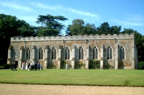Noseley Hall - Templar Chapel (13th Century)