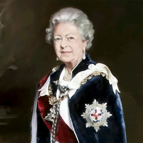 Queen Elizabeth II, painting (ca.2007)