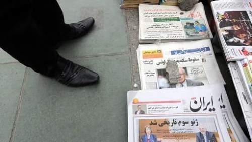 Ook in Iran wordt het akkoord als historisch beschouwd. © epa.