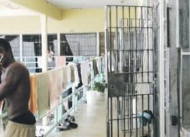 In de nieuwe isolatieafdeling worden straks de meest gevaarlijke gedetineerden opgesloten. FOTO ANTILLIAANS DAGBLAD