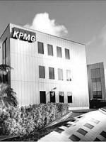 Het gebouw van KPMG. FOTO ARCHIEF