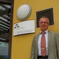 Vertrekkend hoofdofficier van Justitie David van Delft - Foto |  Belkis Osepa