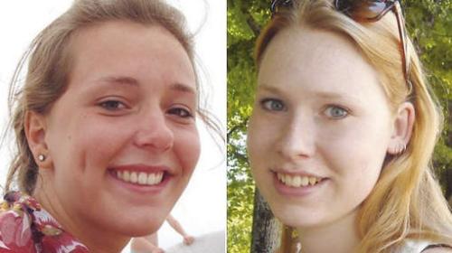Lisanne Froon (links) en Kris Kremers (rechts) © EPA.