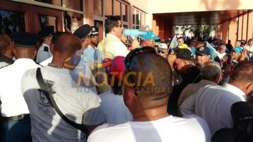 Orde van Advocaten Aruba keurt protest af | Foto MasNoticia