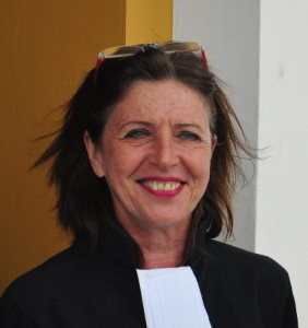 Advocate Sandra-in 't Veld | Foto Persbureau Curacao