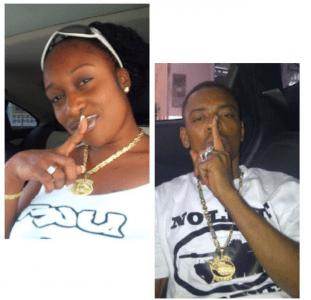 De 31-jarige Latoya Flanders was de vriendin van NLS bendeleider Urvin 'Nuto' Wawoe