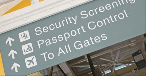 Onlangs dertig passiers van een vlucht teruggestuurd