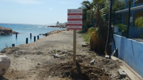 Stranden bij Boca Simon weer open voor publiek