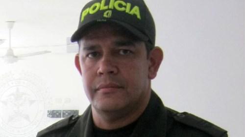 Colombia-Police Colonel Nestor Enrique Maestre