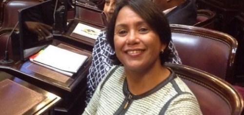 Desiree de Sousa Croes, de Arubaanse politica van de partij AVP