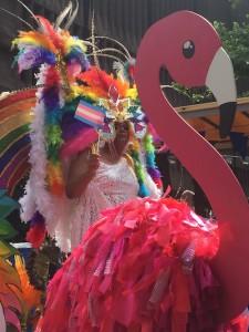 De praalwagen van carnavalsgroep Pasionada - foto: Pieter Hofmann