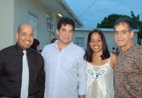 Geeorge Jamaloodin (links), Robbie en Luigi dos Santos