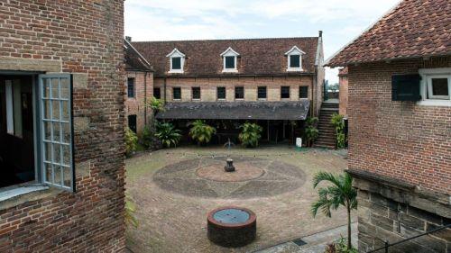 Fort Zeelandia in Paramaribo, de plek waar de Decembermoorden plaatsvonden ANP