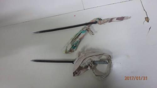 Steekwapens gevonden tijdens zoeking in de Pointe Blanche gevangenis