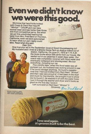 Vintage yarn ad1