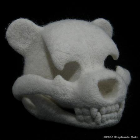 Stephanie Metz\'s Teddy Bear Skull