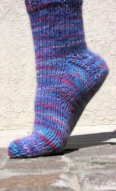 Araucania Worsted-Weight Sock