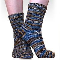 ShiBui Worsted Toe-Up Socks