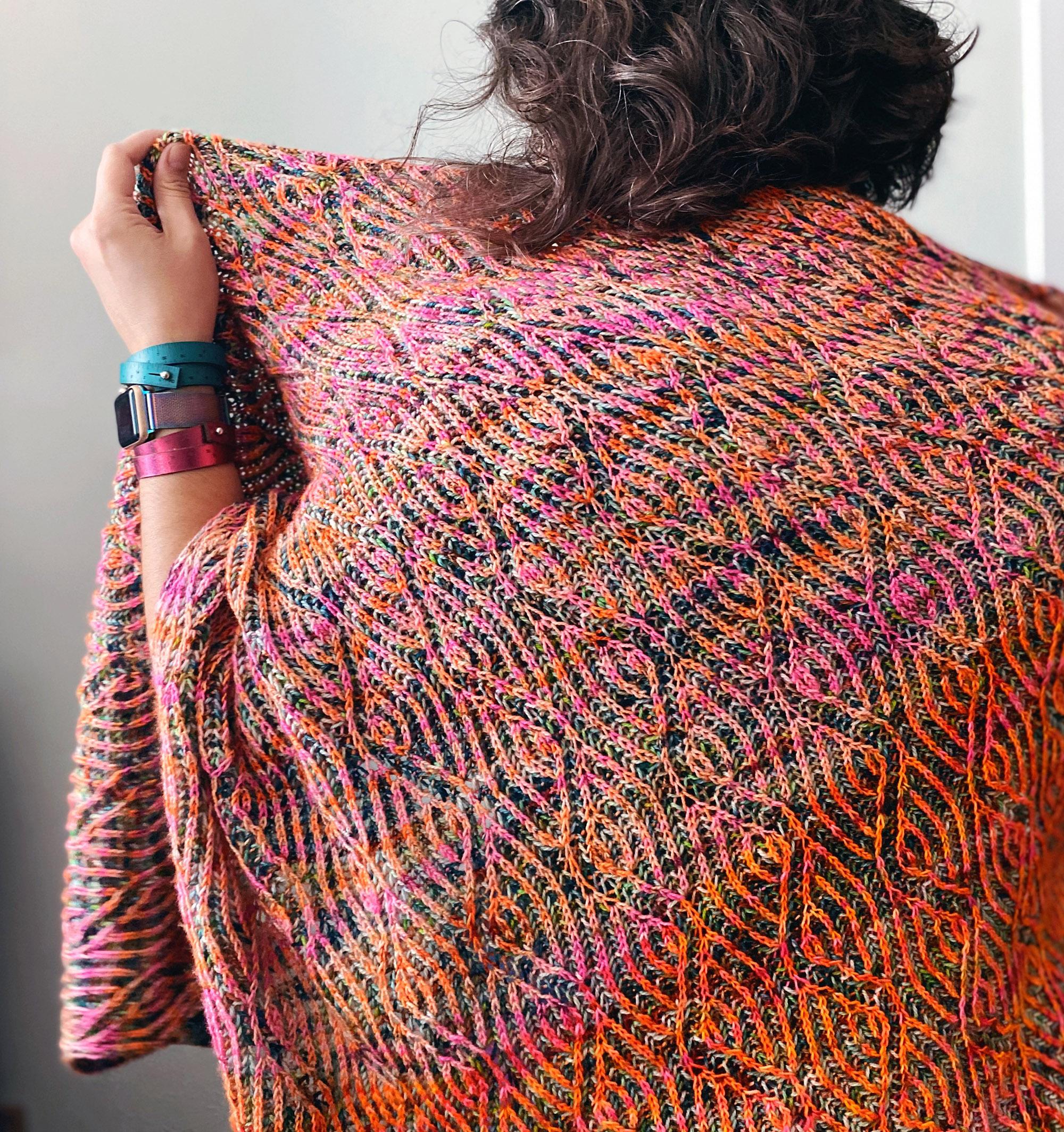 Zig Zag Scribble :: Knitting Pattern PDF - Knit Graffiti