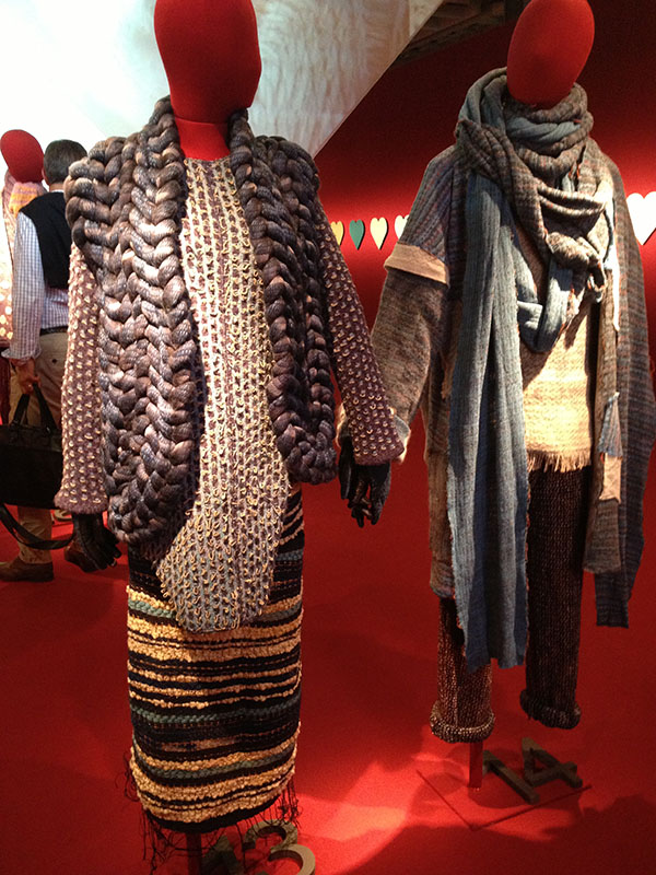 knitGrandeur: Pitti Filati F/W 14/15 - Research Forum, Florence Italy