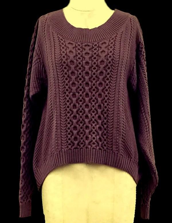 knitGrandeur: FIT & Baruffa 2/30s Cashwool Collaboration 2014: Term Garment Project