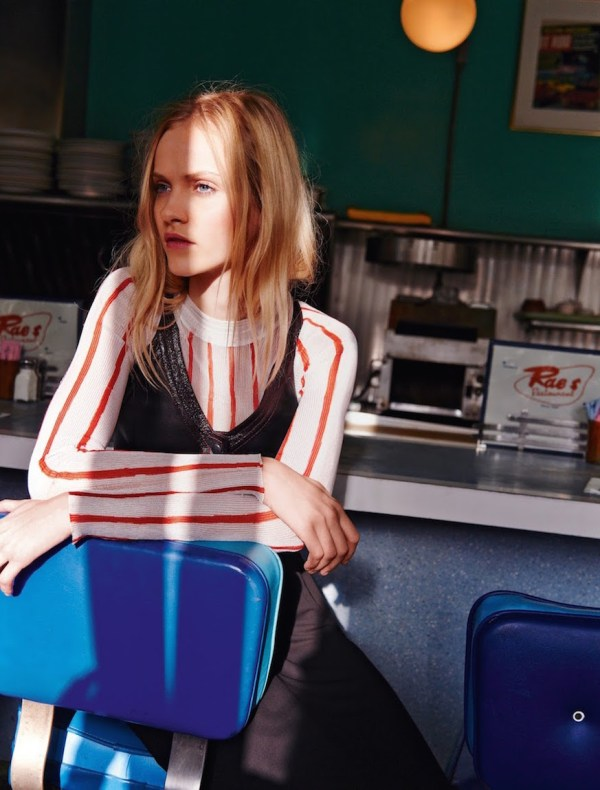 Louis Vuitton Printed Stripe Sweater