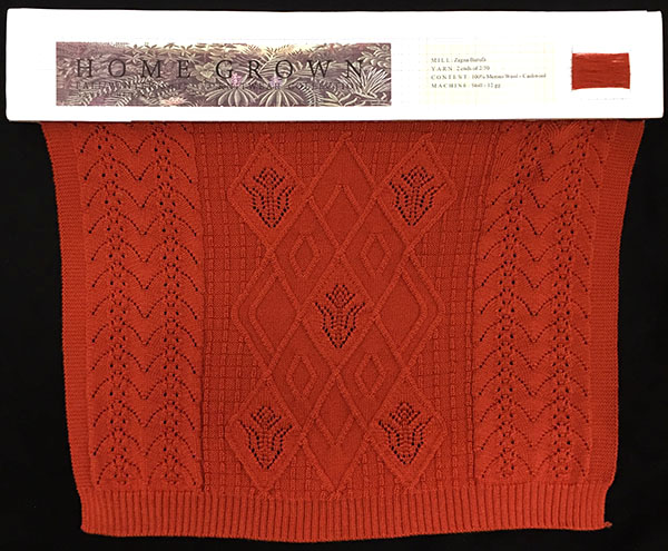 knitGrandeur: FIT & Baruffa Collaboration 2016: Linear Stitch Design Project Featuring Cashwool
