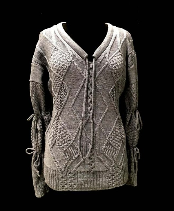 knitGrandeur: FIT & Baruffa 2/30s Cashwool Collaboration 2016: Term Garment Project