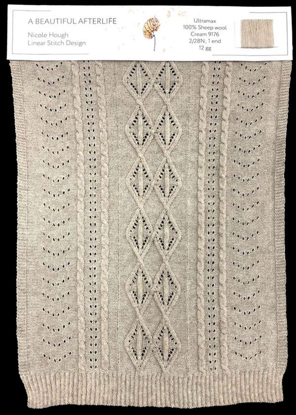knitGrandeur: Designer:NicoleHough- FIT Knitwear Specialization, Linear Stitch Design Project 2018