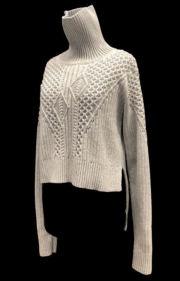 knitGrandeur: Designer: Lu Han - FIT & Biagioli Modesto Collaboration 2018: Term Garment Project Featuring Cash 30
