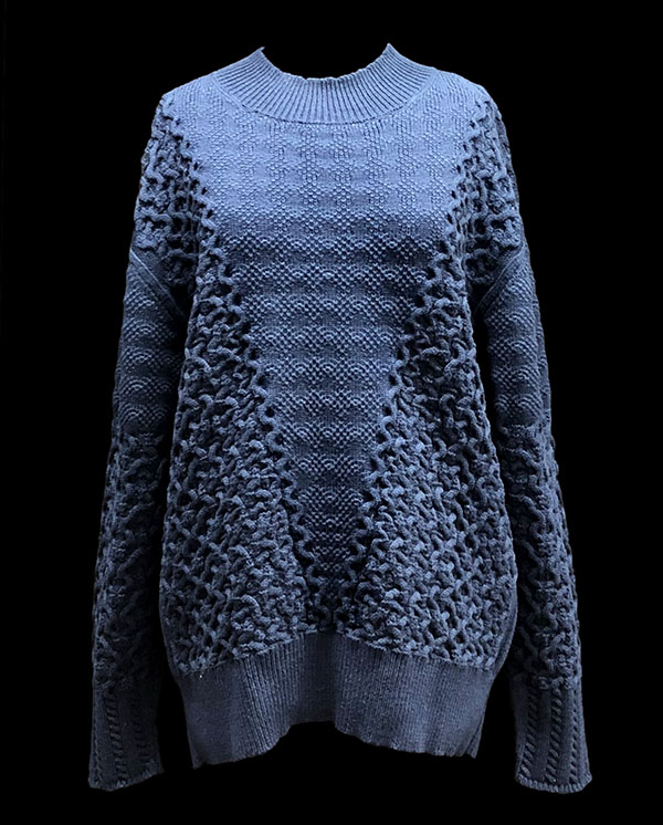 knitGrandeur: Designer: Danny (Thanh) Lam - FIT & Biagioli Modesto Collaboration 2018: Term Garment Project Featuring Cash 30