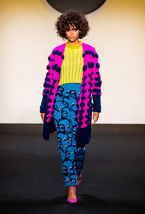Designer: Elinor Vizard- knitGrandeur: FIT The Future of Fashion 2019, Knitwear