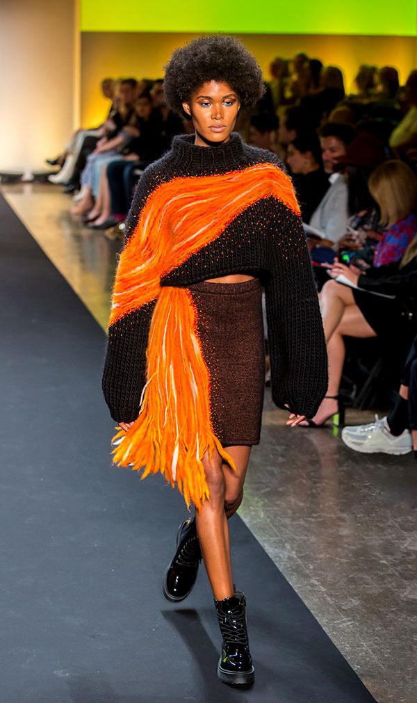 Designer: Lu Han- knitGrandeur: FIT The Future of Fashion 2019, Knitwear