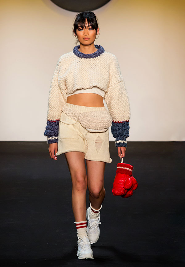 Designer: Ivy He- knitGrandeur: FIT The Future of Fashion 2019, Knitwear