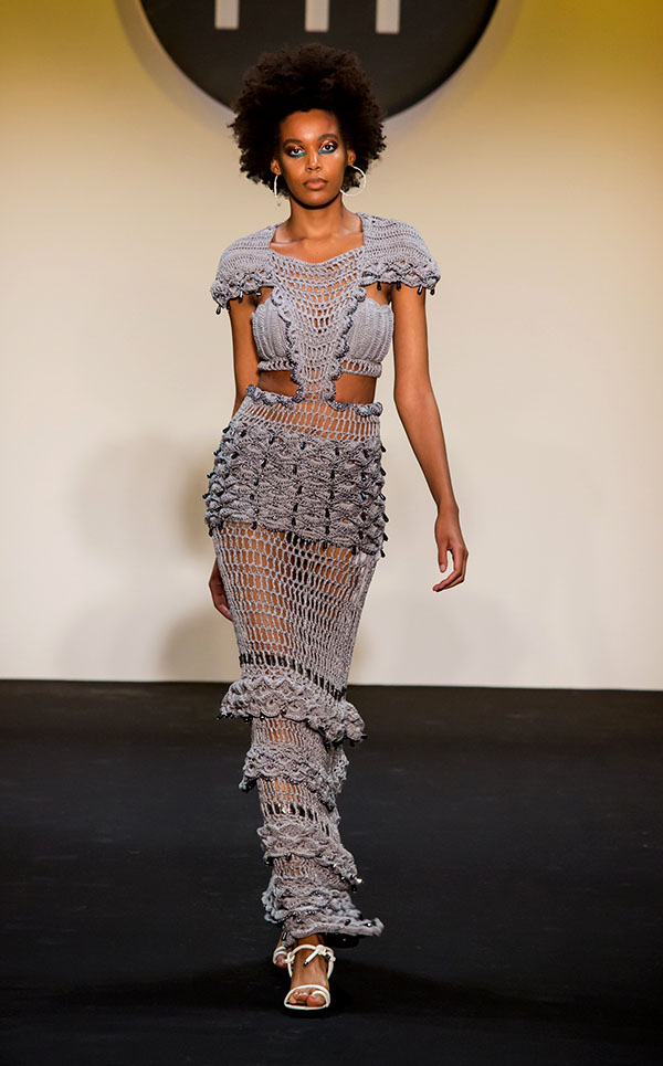 Designer: Jesse Doherty- knitGrandeur: FIT The Future of Fashion 2019, Knitwear