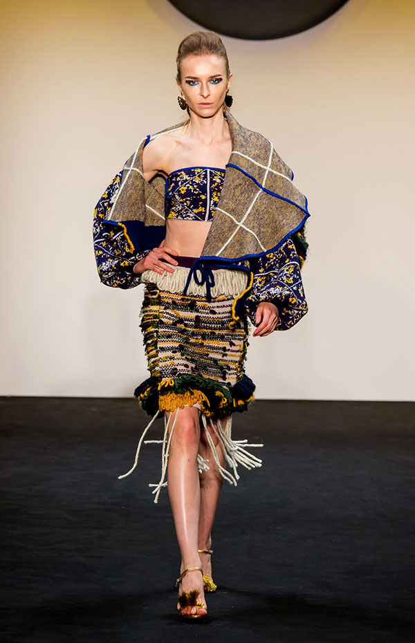 Designer: Meenal Patel- knitGrandeur: FIT The Future of Fashion 2019, Knitwear