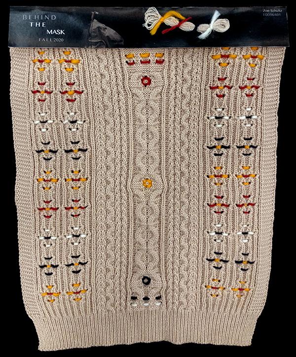 knitGrandeur: Designer: Zoe Schultz- FIT & Biagioli Collaboration 2019: Linear Stitch Design Project