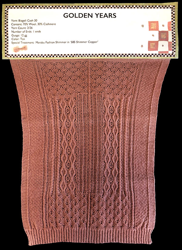 knitGrandeur: Designer: Elif Iyibudar - FIT & Biagioli Collaboration 2019: Linear Stitch Design Project