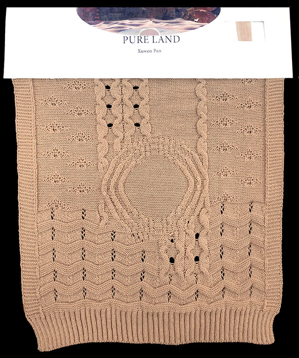 Designer: Susan Xuwen Pan- knitGrandeur: FIT & Biagioli Collaboration 2019: Linear Stitch Design Project