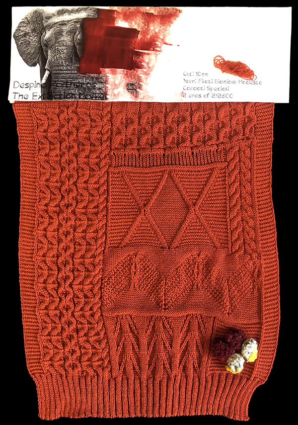 knitGrandeur: Designer: Despina Parthemos - FIT & Biagioli Collaboration 2019: Linear Stitch Design Project
