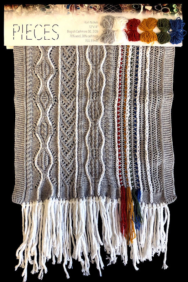 knitGrandeur: Designer: Karli Nichols - FIT & Biagioli Collaboration 2019: Linear Stitch Design Project
